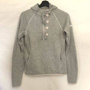 The North Face Pullover 3/4 Zip Hooded Sweater S/P